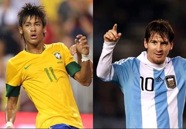 Argentina 4-3 Brazil: Magical Messi hat trick decides clasico thriller