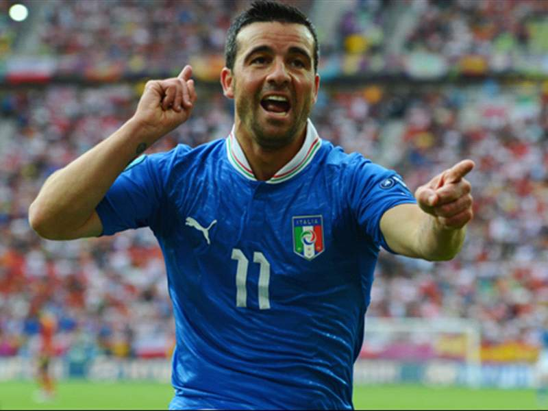 Antonio Di Natale.Loathed In Italy For Four Years Antonio Di Natale Finally Has The Fans Loving Him Again Goal Com