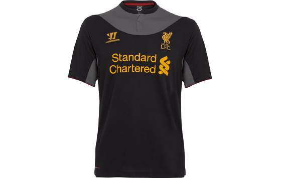 buy online 12ba5 d8d8e Liverpool reveal new away kit for 2012-13 season | Goal.com