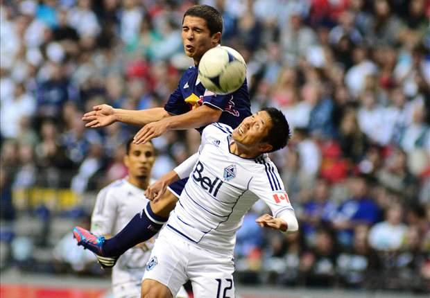 Vancouver Whitecaps 1-1 New York Red Bulls: Pearce steals road draw