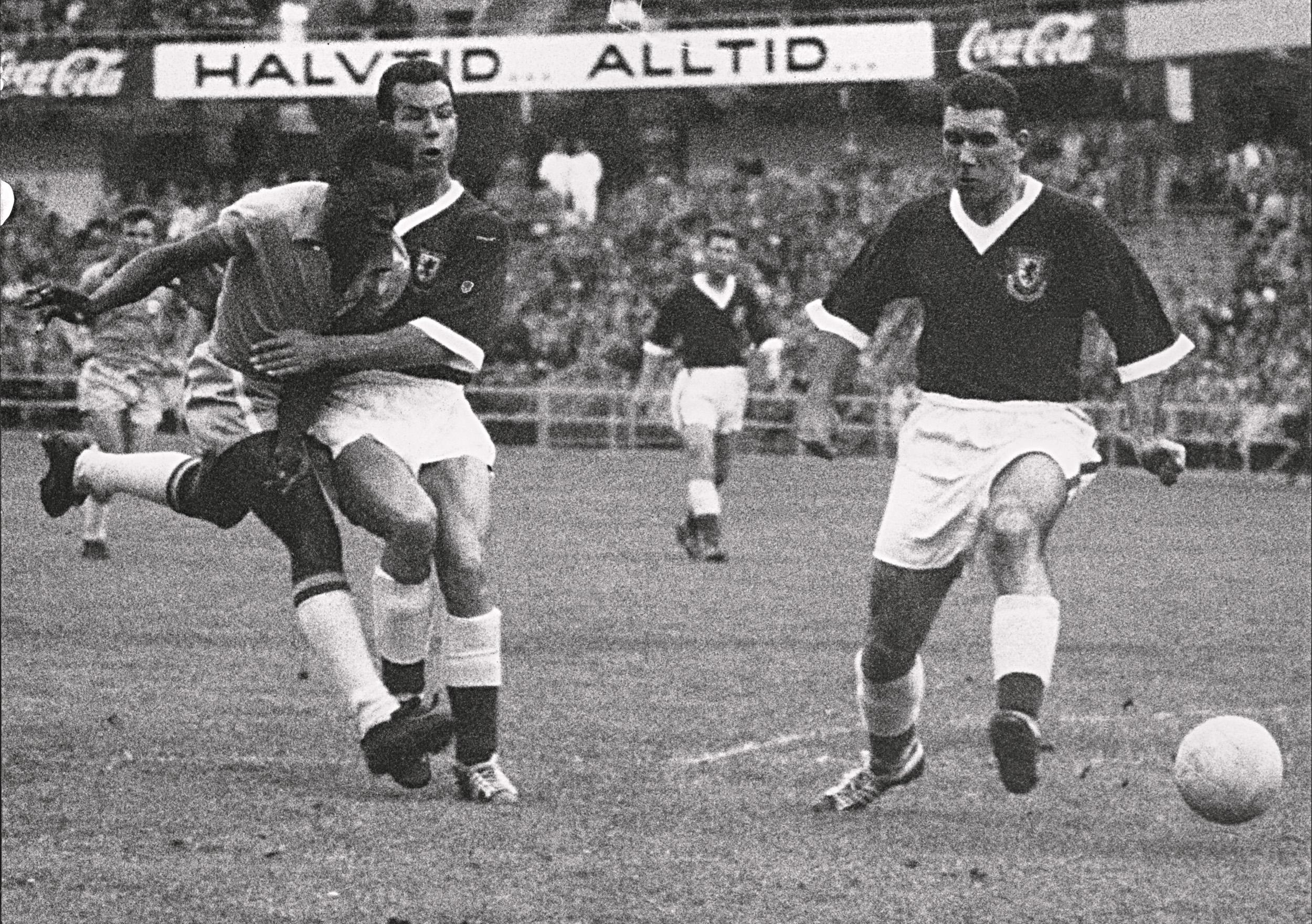 Pele (Brazil v Sweden - 1958)