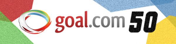 全50人の選手を発表! Goal.com 50