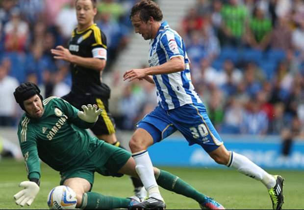 Brighton 3-1 Chelsea: Hosts stun Di Matteo's men despite Lampard opener