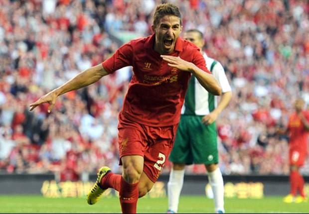 Liverpool 3-0 FC Gomel (Agg 4-0): Borini scores first Reds goal as Suarez & Gerrard impress in comfortable Europa League win