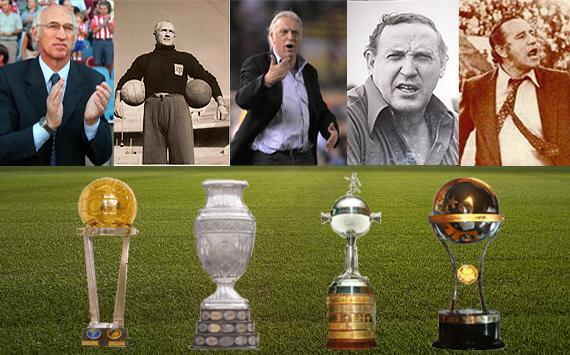 Los 5 técnicos argentinos más ganadores