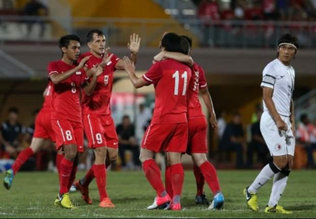 Singapore 2-0 Hong Kong: Lions claim revenge