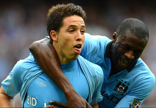 Manchester City 3-2 Southampton: Dzeko & Nasri earn champions thrilling comeback victory