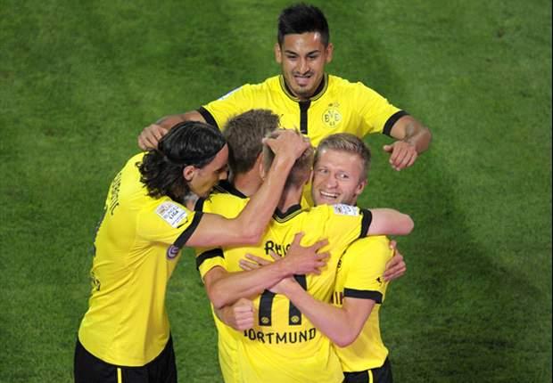 Borussia Dortmund 2-1 Werder Bremen: Supersub Gotze strikes late winner