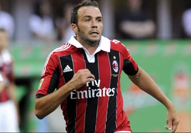 Bologna 1-3 AC Milan: Pazzini hat-trick sees off stubborn hosts