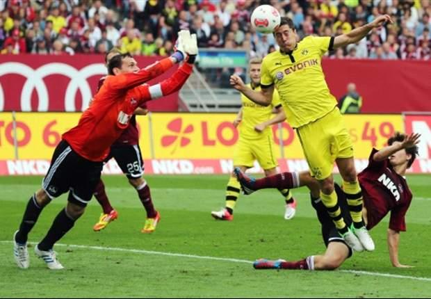 Nurnberg 1-1 Dortmund: Kuba rescues point for champions
