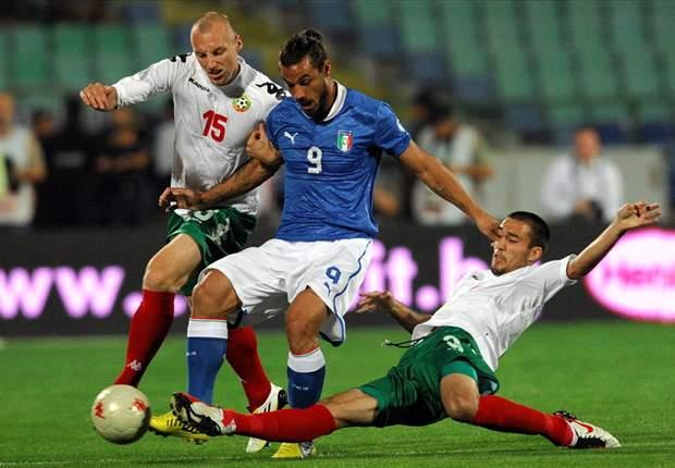 Bulgaria 2-2 Italy: Osvaldo double not enough for lacklustre Azzurri