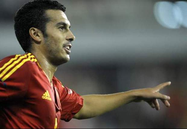 Belarus 0-4 Spain: Pedro fires hat-trick in cruise for world champions