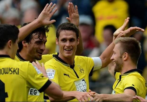 Borussia Dortmund 3-0 Bayer Leverkusen: Champions stroll to confident home victory