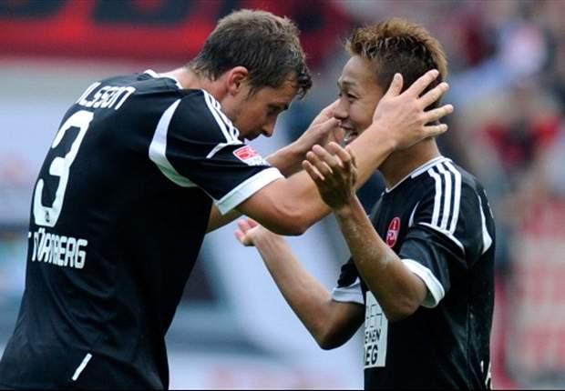 清武がドイツ初ゴール&2アシスト、チームを勝利に導く