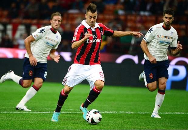 AC Milan 2-0 Cagliari: El Shaarawy double eases pressure on Allegri