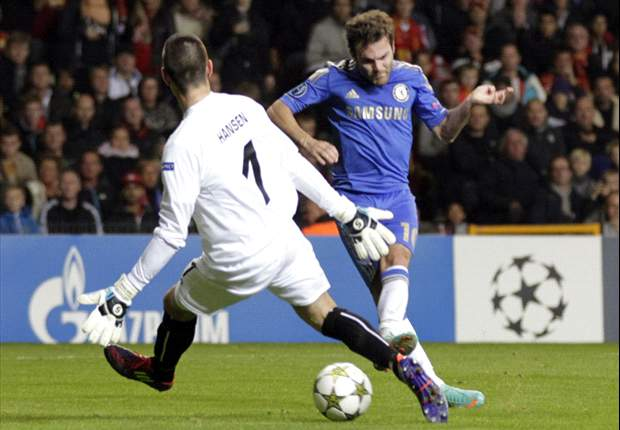 FC Nordsjaelland 0-4 Chelsea: Mata at the double as holders run riot