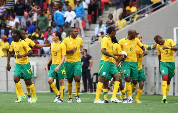 Bafana Bafana's strike force options revealed