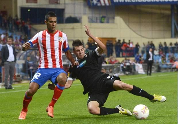 Image result for viktoria plzen atletico madrid 1-0