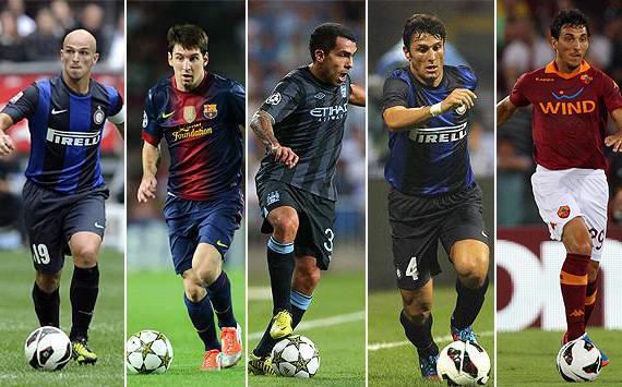 Los 5 jugadores argentinos en actividad con más títulos