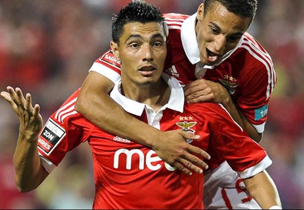Benfica 2-0 Spartak: Un 'glorioso' Óscar Cardozo lidera la victoria lusa