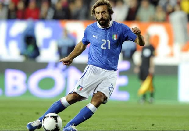 Armenia 1-3 Italy: Pirlo, De Rossi and Osvaldo see off stubborn hosts