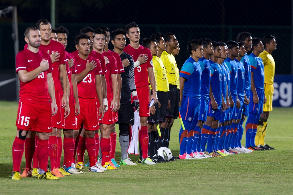 At the Gallery: Singapore 2-0 India