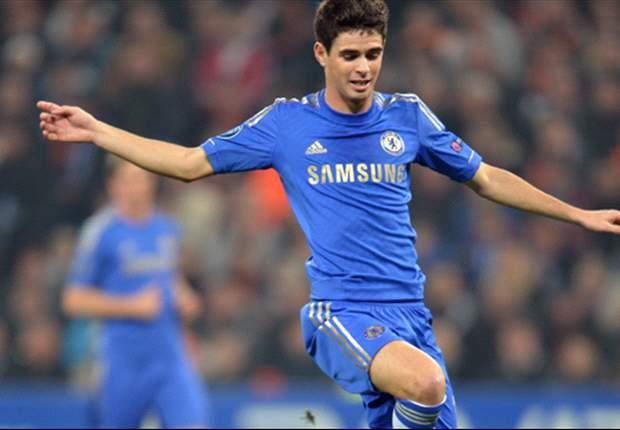 Sparta Prague 0-1 Chelsea: Late Oscar magic gives Blues advantage