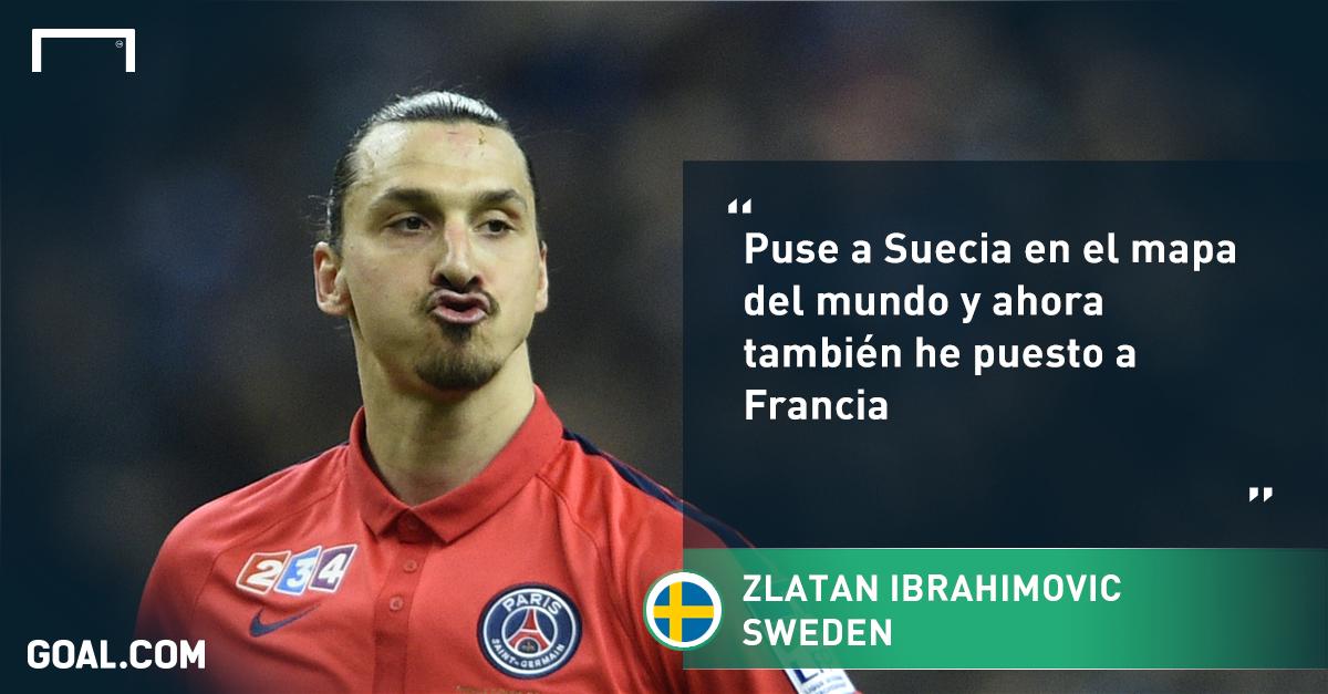 Zlatan Ibrahimovic Yo Puse A Francia En El Mapa Goalcom