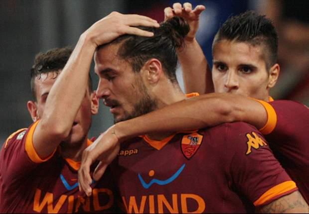 ローマが4ゴールで連敗ストップ
