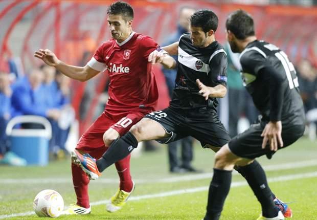 Levante houdt stand bij onmachtig Twente