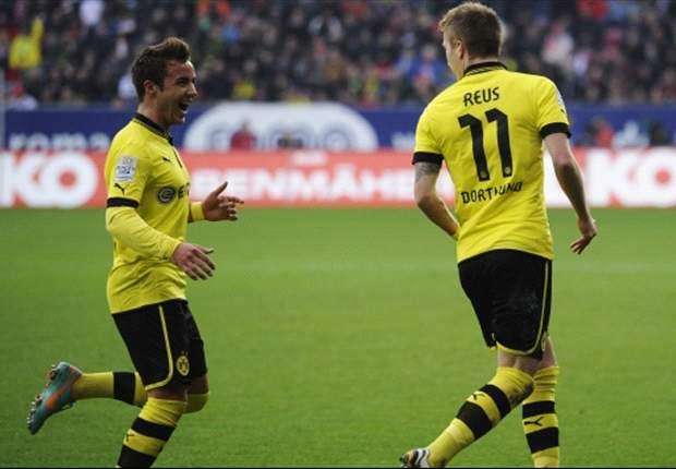Augsburg 1-3 Borussia Dortmund: Reus rocket & Lewandowski double earns champions comfortable away win