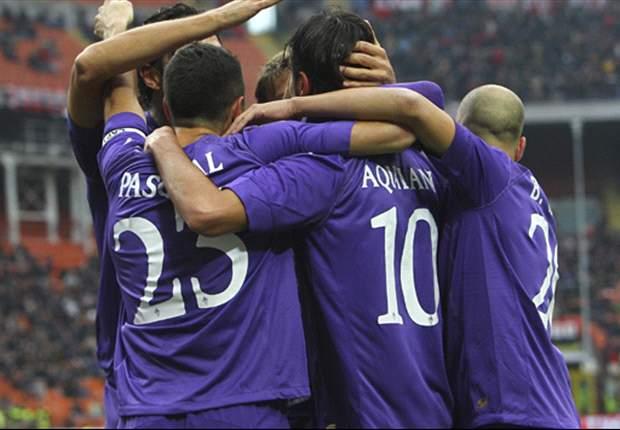 AC Milan 1-3 Fiorentina: Aquilani comes back to haunt Rossoneri as Viola silence San Siro