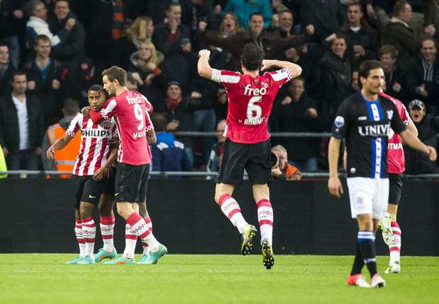 Eredivisie Round 12 Results: PSV go top with win over Heerenveen as Twente draw with Vitesse