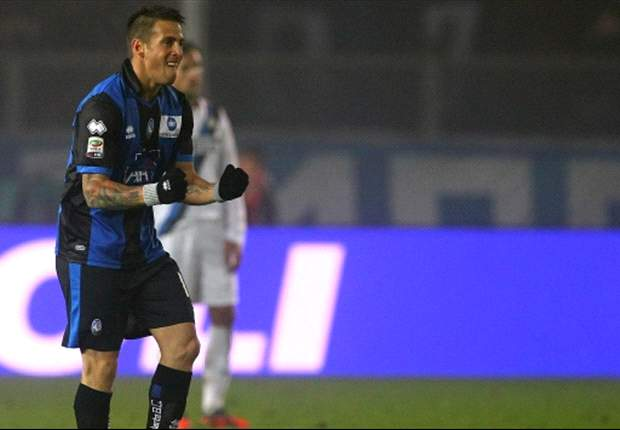 Atalanta 3-2 Inter: Denis at the double as visitors' winning run comes to an end