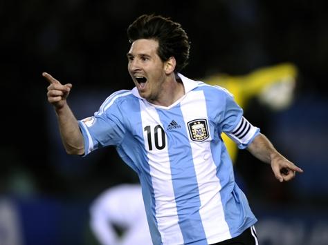 El año de Messi en la Selección