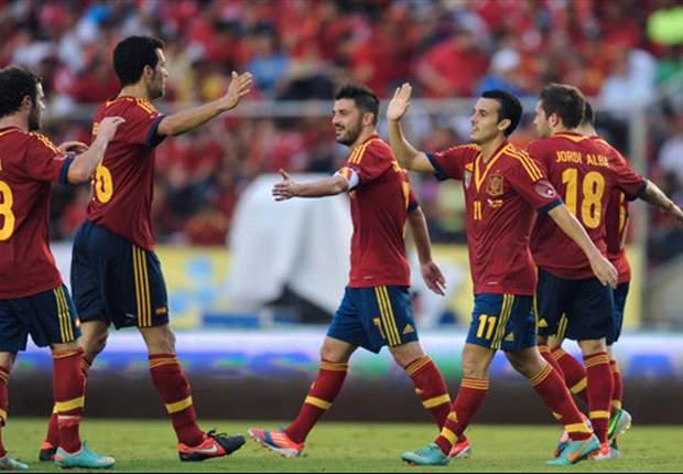 Un Andrés Iniesta brillante fue suficiente para golear a Panamá