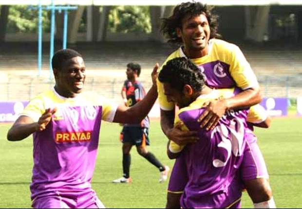 Pailan Arrows 1-2 Prayag United: Bhowmick's clinical performance seals three points for his side