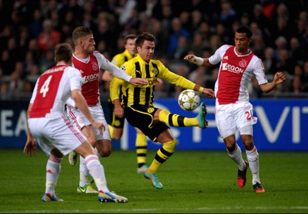 Ajax 1-4 Borussia Dortmund: Gotze guides German champions to Group D glory