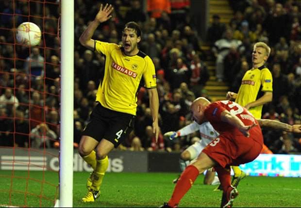 Liverpool 2-2 Young Boys: Late Zverotic leveller leaves Reds' knockout stage hopes in doubt