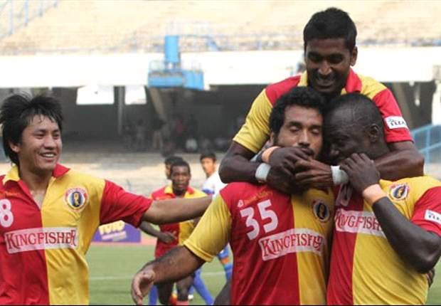 East Bengal 5-0 ONGC FC: Morgan's side demolish the Oilmen