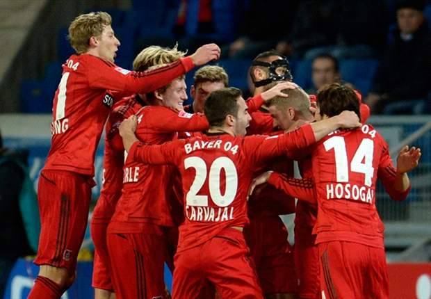 Bundesliga Round 13 Results: Frankfurt hold Schalke as Leverkusen march on