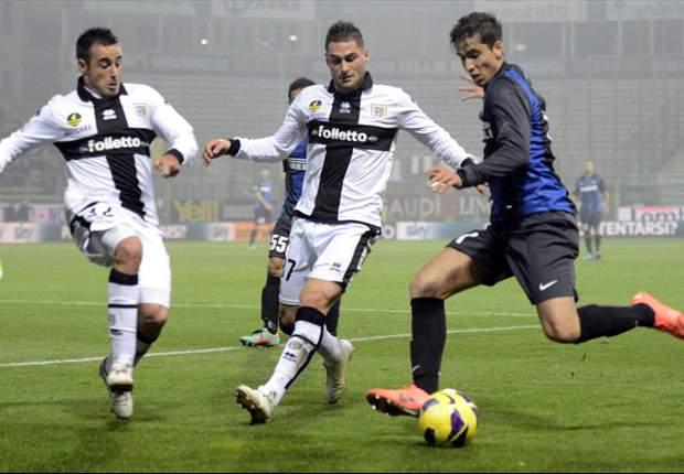 Parma 1-0 Inter: Sansone strike stuns Stramaccioni's stuttering side