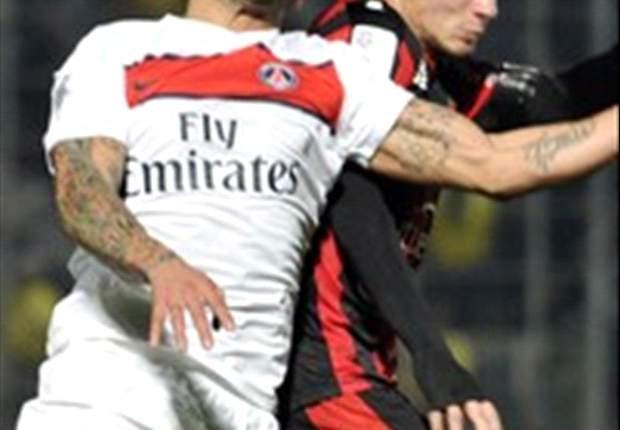 Nice 2-1 Paris Saint-Germain: Eysseric stunner shocks paltry Parisiens
