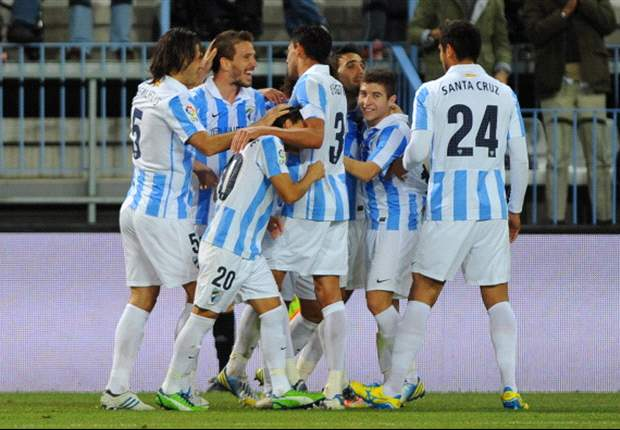 La Liga Round 21 Results: Malaga and Valencia both record narrow 3-2 victories