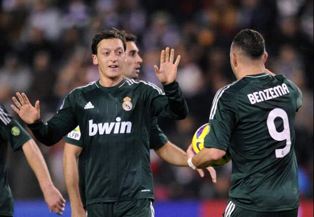Valladolid 2-3 Real Madrid: Outstanding Ozil spares Blancos' blushes