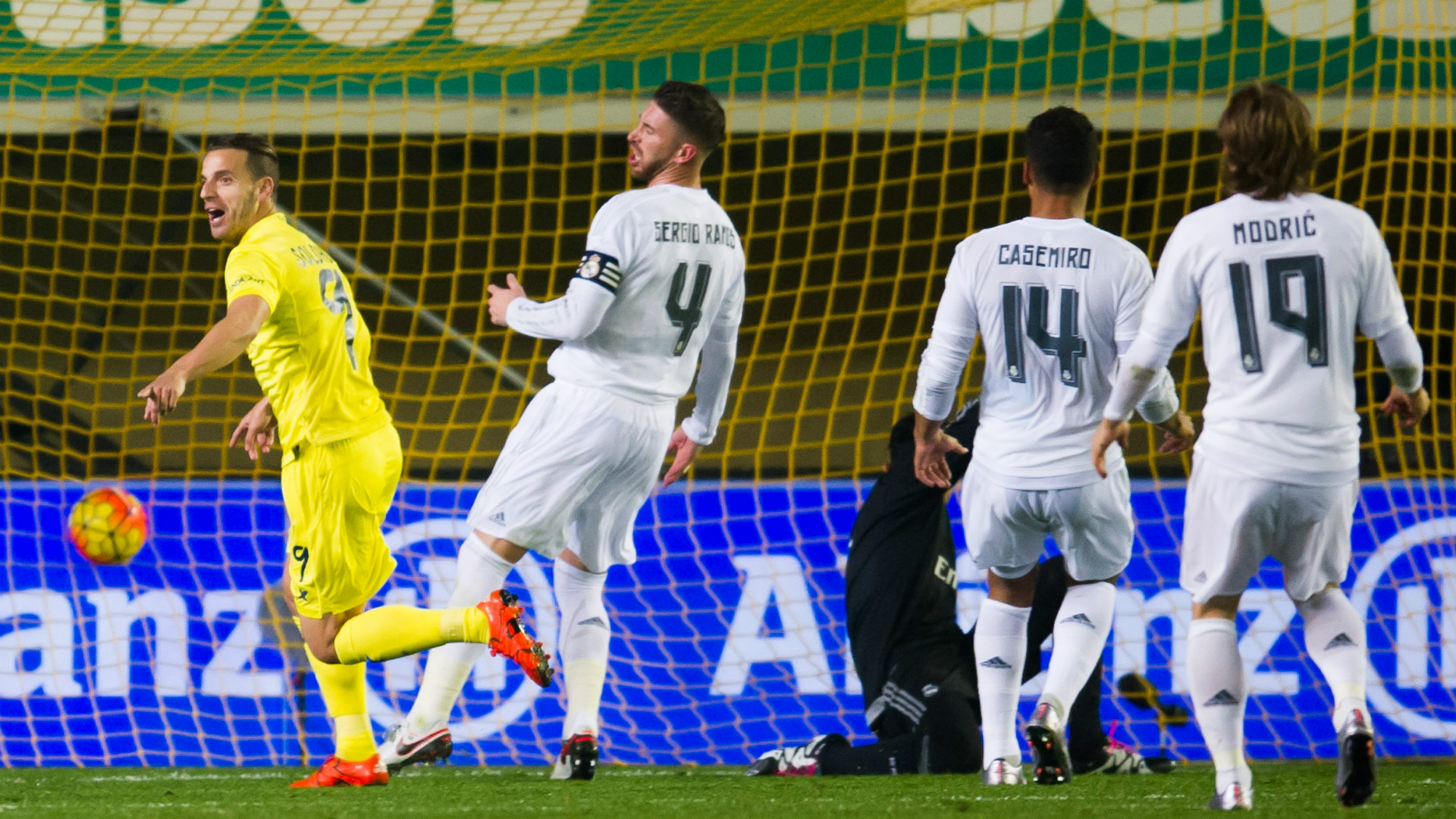 Villarreal 1 0 Real Madrid Soldado Strike Downs Toothless Blancos Goal Com