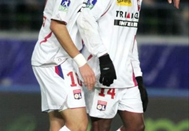 Copa de Francia: Govou firma el doblete para el Lyon (1-0)