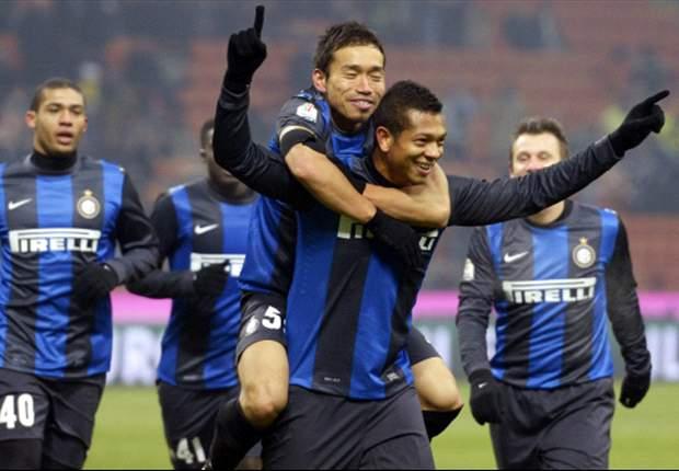 Inter 2-0 Verona: Cassano & Guarin ease Nerazzurri into Coppa quarter-finals