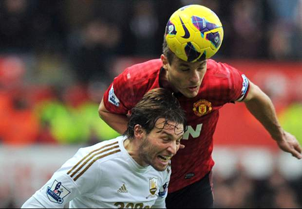 Swansea-Manchester United 1-1: Michu risponde a Evra, perfetta parità al Liberty Stadium