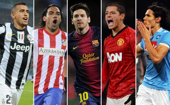 Los latinos top en las mejores ligas del mundo